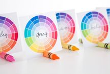 Art Party / Put an artistic touch on your next party with these great ideas!