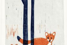 Printmaking / A collection of beautiful, inspiring prints.