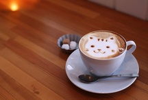 Coffee Art on Latte ☕ / by Wulan Busono