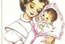 Vintage cards and graphics / by Sheri Deindoerfer