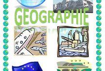 espace géographie / by Edéfia .