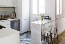Vintage Kitchen Floor