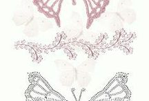 бабочки вязание