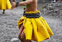 Ancient Hula / Images of dancers, ho'o pa'a, instruments, regalia and all things hula kahiko
