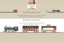 Site #ecommerce / Notre nouveau site de vente en ligne dédié au modélisme ferroviaire est en cours de développement !