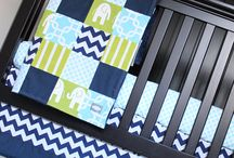 Baby's Room / Lime Green, Aqua and Navy Blue dream Baby Boy Room. <3 / by Christina Masureik