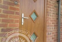 Solidor Roma Timber Composite Doors / Selection of images featuring the Solidor Milano Roma Composite Door installed by ourselves part of the Italia Collection