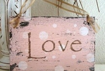 <3 LOVE <3 / Love, Love, Love...the word love on everything! Please pin however many you'd like! / by Star Rainbow