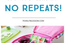 Recipes - Kids' lunches
