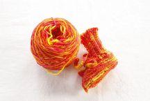Strikk/knitting mix / Knitting, yarn, handyed yarn, design, patterns etc...
