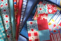 Red and Blue Quilts