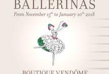 Vendôme Boutique exhibitions