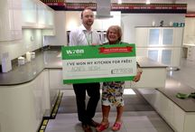 Kitchen Giveaway Competition / Look at all those happy faces! These are our Wren Winners.  We randomly selected 10 lucky winners in each draw to win their kitchens for FREE. Here are the happy snaps...