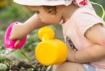 Gardening with Kids  / Getting your children involved in gardening is a great way to not only enjoy the outdoors, but also spend time with them.  / by Eric Vinje