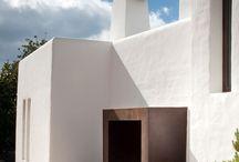 Front entrances for residential build