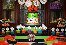 Halloween theme birthday party? / by Kira Fahey