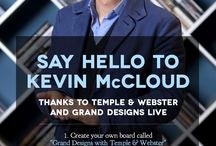 Meet Kevin McCloud at Grand Designs Live 2014 / by Temple & Webster