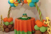 decoracion de globos