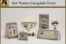 Set nunta Caragiale Ivory