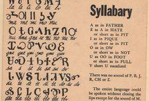 Languages, symbols, signs, sigils / by Millie Lushington