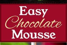 chocolate mousse recipes