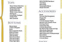 closet lists