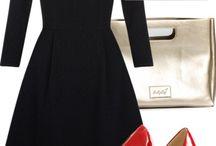 образы с черным платьем