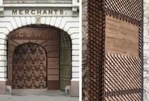 Arquitectura efímera en madera