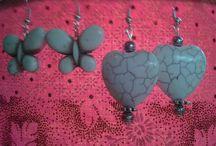 Earrings / Beautiful Handmade Earrings by Shen Bettridge Email shenbettridge@gmail.com