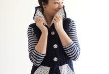 Crochet sweaters, vests, cardigand, coats