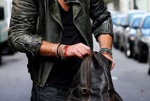 Men's leather