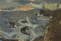Joan Eardley / Joan Kathleen Harding Eardley (18 May 1921 – 16 August 1963) was a British artist noted for her portraiture of street children in Glasgow and for her landscapes of the fishing village of Catterline and surroundings on the North-East coast of Scotland.
