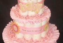 Diaper Cakes / by Tammy Kinman