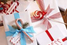 Christmas wrapping / Cool gift wrapping ideas