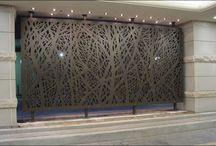 Decorative Screen and Gate