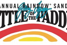 Battle of the Paddle / Rainbow Sandals annual Stand Up Paddle race event and expo.  This year's event, held at Salt Creek Beach in Dana Point, CA, is the perfect location for competitors, exhibitors, and spectators!
