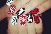 nagels kerst