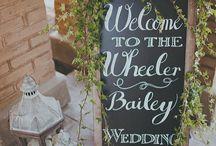 Wedding ideas (general)