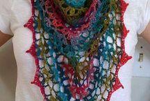 bufandas croché