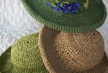 rafya şapka ve çanta