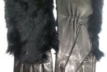 Gloves Duecci / gloves in nappa leather and insert fur lapin colour black