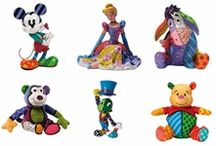 Disney by Britto / Disney by Britto range of plush soft toys and collectable figurines designed by Romero Britto, an International acclaimed pop artist.