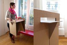 έπιπλα απο χαρτόνι - Cardboard furnitures