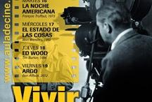 Cine - 15/04 a 19/04: Ciclo 'Vivir Rodando'  en el Aula de Cine de la ULPGC