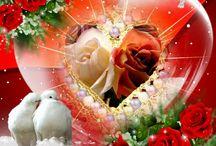 romantyczne obrazki