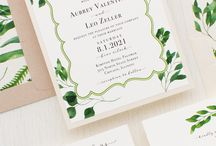 Wedding Stationery / It all starts when that invite hits the matt and the RSVPs begin to roll in. Wedding stationery can help bind your theme together.