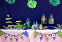 Polka Dot Party / A polka-dot theme is perfect for a fun and modern party! Perfect for bridal and baby showers!
