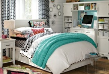 Teen Girl Room / Getting Inspirations to re-finish my daughters bedroom furniture now that she getting into her teen years.