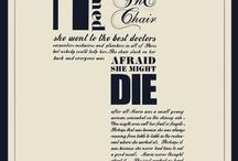words / by Joanne Boyko