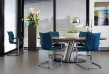 Moderne Design eethoeken / Schitterende moderne eetkamertafels & stoelen.